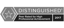distinguished logo